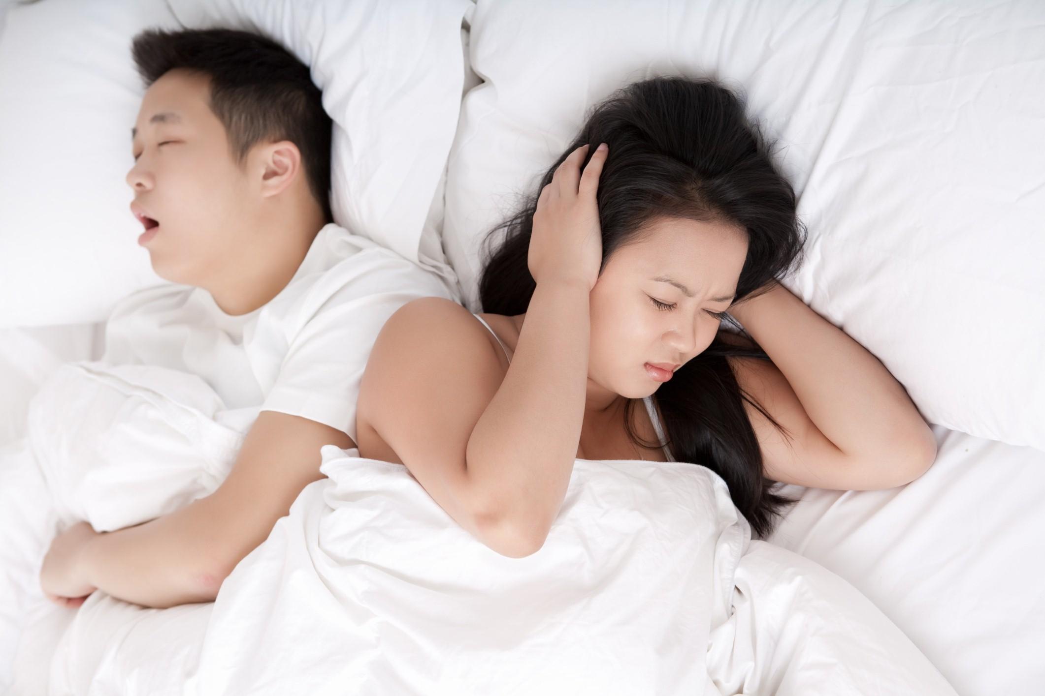 วิธีแก้อาการนอนกรน